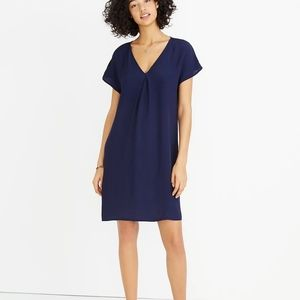 Madewell Moment Dress Navy Color